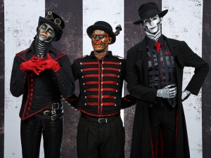 Rabbit, Hatchworth and The Spine from Steam Powered Giraffe
